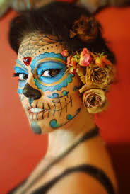day of the dead makeup for halloween 415 best day of the dead make up images on pinterest sugar