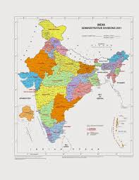 India Map Of States by The Map Of India Aser Centre
