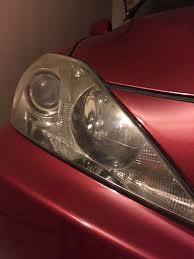 lexus rx330 headlight recall headlight discoloration 04 09 lexus rx330 rx350 rx400h