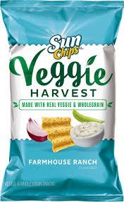 Farmhouse Ranch Amazon Com Sunchips Veggie Harvest Farmhouse Ranch Flavored