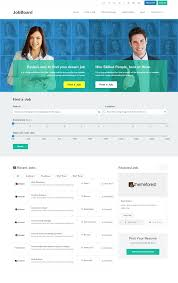 Free Job Portals To Search Resumes by 30 Best Job Board Wordpress Themes For 2017