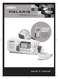 uniden two way radio polaris user guide manualsonline com