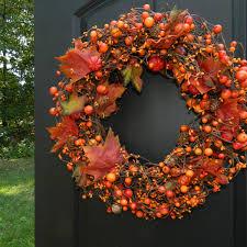 decorating outdoor fall wreaths front door autumn wreaths how