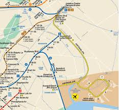 New York Metro Station Map by Airtrain New York Map New York Map