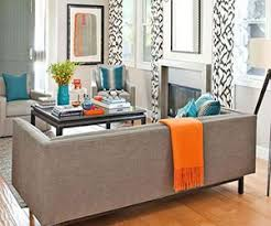 teal and orange living room decor centerfieldbar com