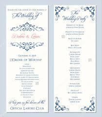 program for wedding wedding invitation programs amulette jewelry
