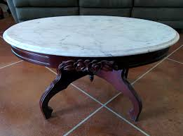 antique oval marble top coffee table vintage oval marble coffee table best gallery of tables furniture