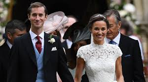 Pippa Wedding Pippa Middleton Wows In Giles Deacon Wedding Dress All About