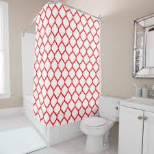 moroccan lattice shower curtains zazzle