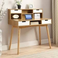 Secretary Desk For Desktop Computer Up To 40 In Desks Hayneedle