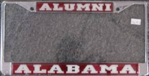 of alabama alumni car tag alabama collegiate gifts