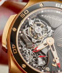 mayweather watch collection hysek abyss 44mm tourbillon watch hands on ablogtowatch
