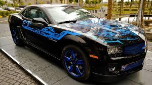 blue chevrolet camaro chevrolet camaro with blue rims wallpaper car wallpapers 51689