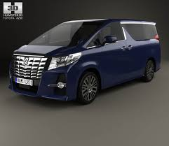 toyota 2015 models toyota alphard cis 2015 3d model hum3d