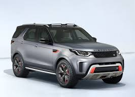 first land rover land rover discovery svx revealed at frankfurt motor show