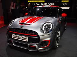 new mini john cooper works model previewed with detroit concept