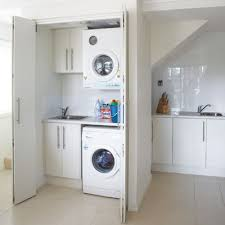 Kitchen Laundry Ideas 17 Best Ideas About Concealed Laundry On Pinterest Small