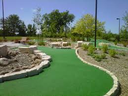 eagle lake mini golf course isn u0027t your typical putt putt rocks