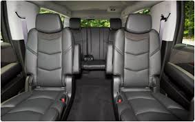 luxury minivan interior premium cadillac rental suv rental in atlanta atlantic limo