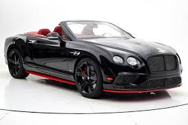 bentley black 2017 2017 bentley continental gt speed convertible black edition