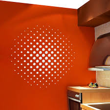 circle wall art roselawnlutheran halftone circle wall art decal