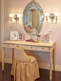 Antique Vanity With Mirror Vintage Style Of Antique Vanity Table Design With Wall Lights And