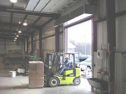 Loading Dock Air Curtain Ehd Air Curtain Commercial Industrial Doors Daco Corp