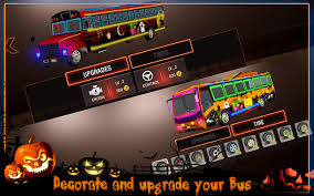 halloween party bus driver 3d android apps on google play