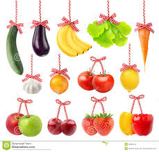 Vegetable And Fruit Decoration Fruits And Vegetables As Christmas Decoration Stock Photo Image