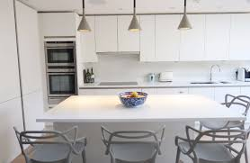 Home Interiors En Linea Imaggio Interiors Portfolio Kitchen Design Handleless Linea White