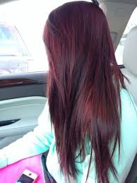rich cherry hair colour dark intense burgundy hair color college students pinterest