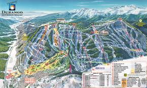 Colorado Mountain Map by Purgatory Durango Mountain Resort Skimap Org