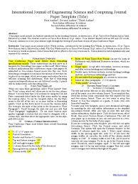 ijesc journal paper format 2 bracket times new roman