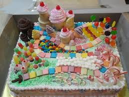 cake candyland decorations for birthday the beautiful