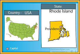 map usa rhode island us state maps clipart providence rhode island state us map with