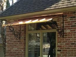 Decorative Metal Awnings Diy Corrugated Metal Awning Decorative Metal Window Awnings