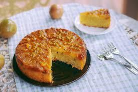 secateur de cuisine sea and salt pear and passionfruit cake