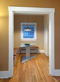 dining room trim ideas craftsman trim dining room contemporary with breakfast room white