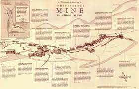 Map Of Alaska Towns by Gold Mine Independence Alaska