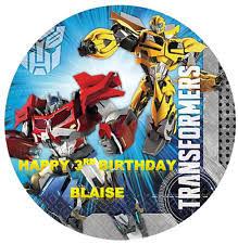 bumblebee transformer cake topper free printable transformers transformers party cakes ebay
