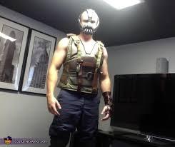 Dark Knight Halloween Costume Dark Knight Rises Homemade Bane Costume Photo 4 7