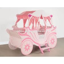 princess carriage bed frame susan decoration