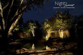 austin landscape lighting by nightscenes landscape lighting