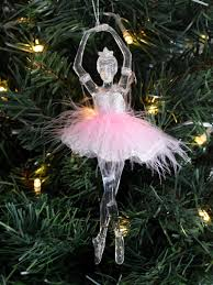 gisela graham ballerina tree decoration hanging