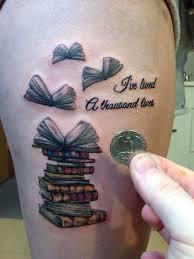 40 literary book tattoos