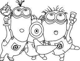 33 minions images coloring books coloring