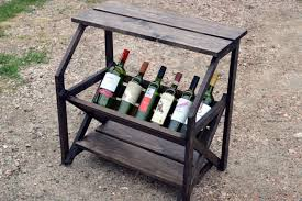 wine rack side table ana white great book caddy wine rack side table fun project
