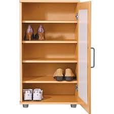 Jenlea Shoe Storage Cabinet Contemporary Shoe Storage Cabinet Beech Shoe Storage Design