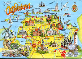 Map Me Home Map Of Ostfriesland Remembering Letters And Postcards