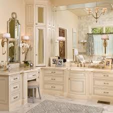 amusing built in bathroom vanities vanity with linen closet design